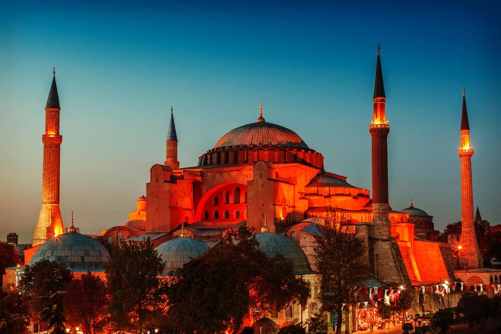 الاماكن السياحية في تركيا - ايا صوفيا