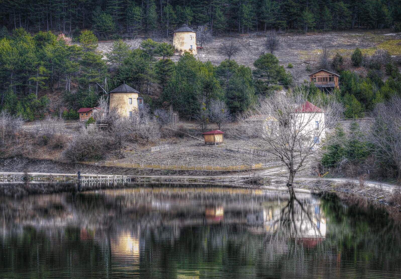 السياحة في بولو تركيا في الشتاء