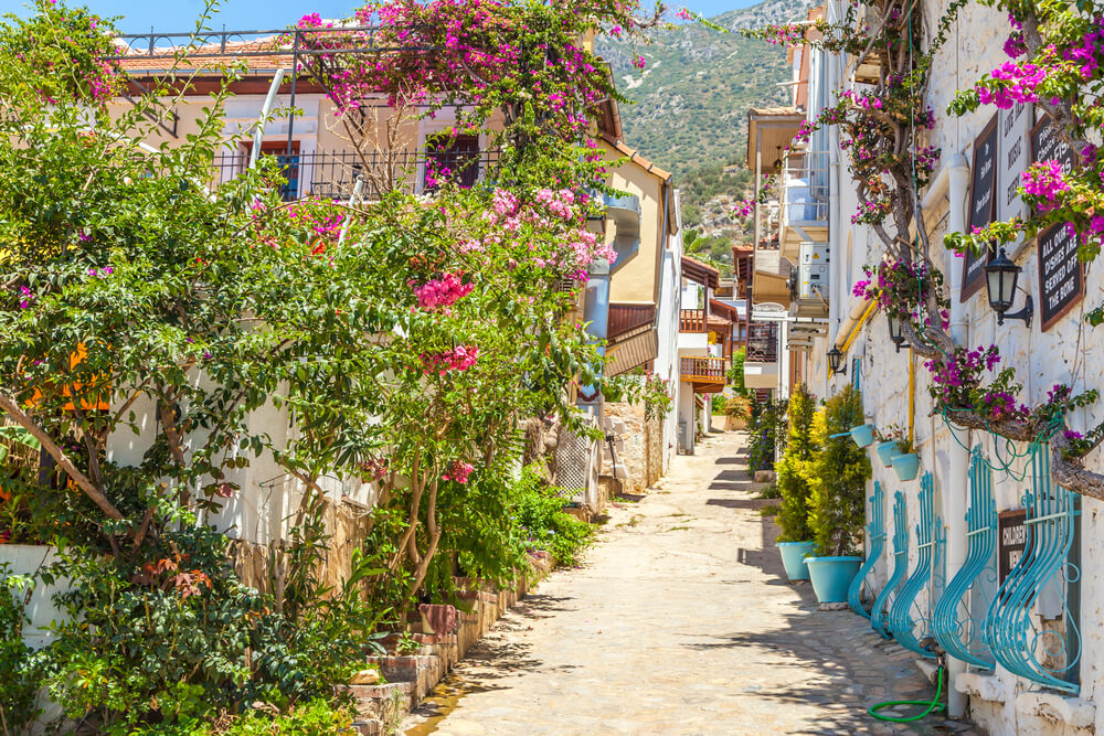 السياحة في كالكان تركيا