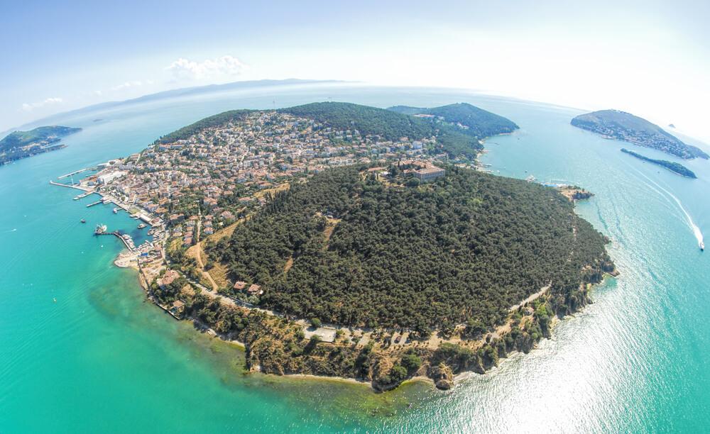 السياحة في تركيا - حزر الاميرات الساحرة
