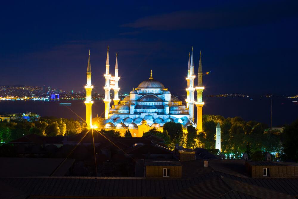 مسجد السلطان احمد في تركيا