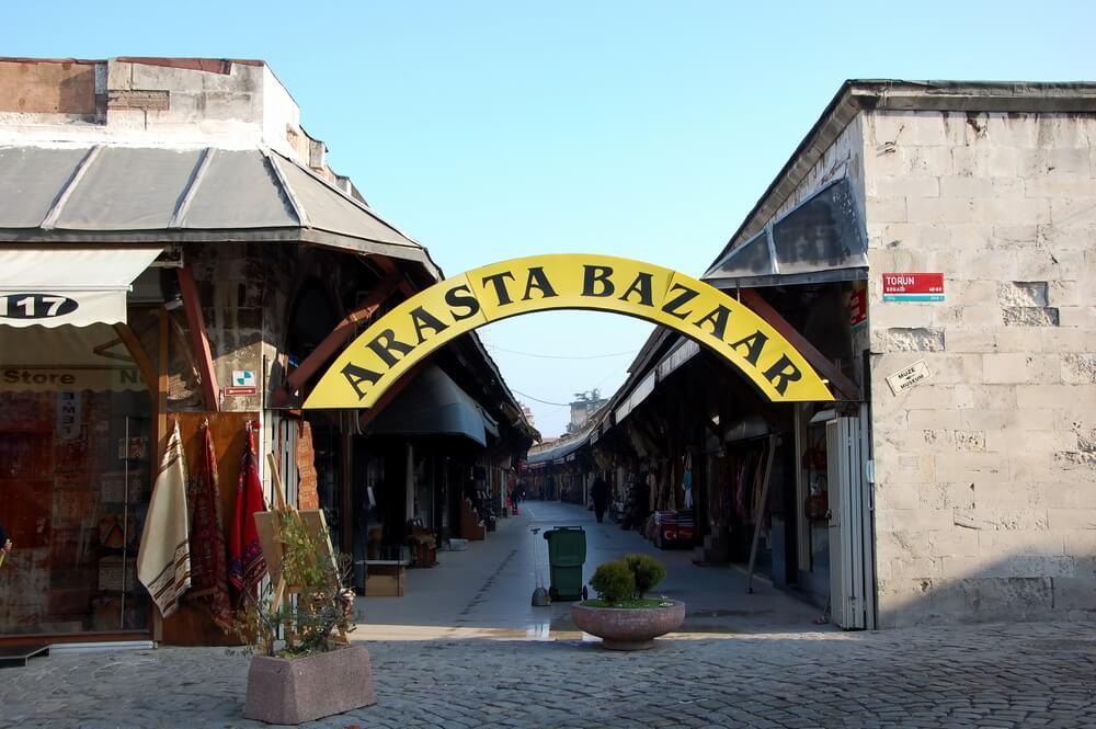 سوق اراستا والمصنوعات اليدوية